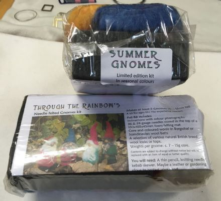 Through the Rainbow Needle Felting Summer Gnomes Kit